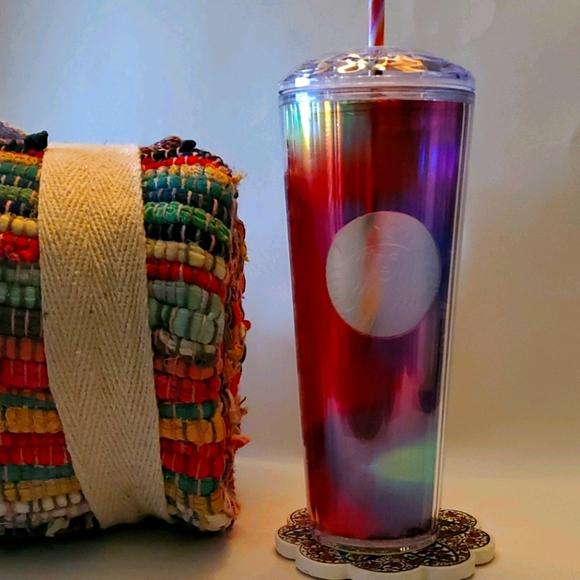 Starbucks Rainbow Kaleidoscope Venti Tumbl…